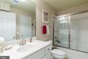 Full Bath on Lower Level - 3756 RUSSETT MAPLE CT, DUMFRIES
