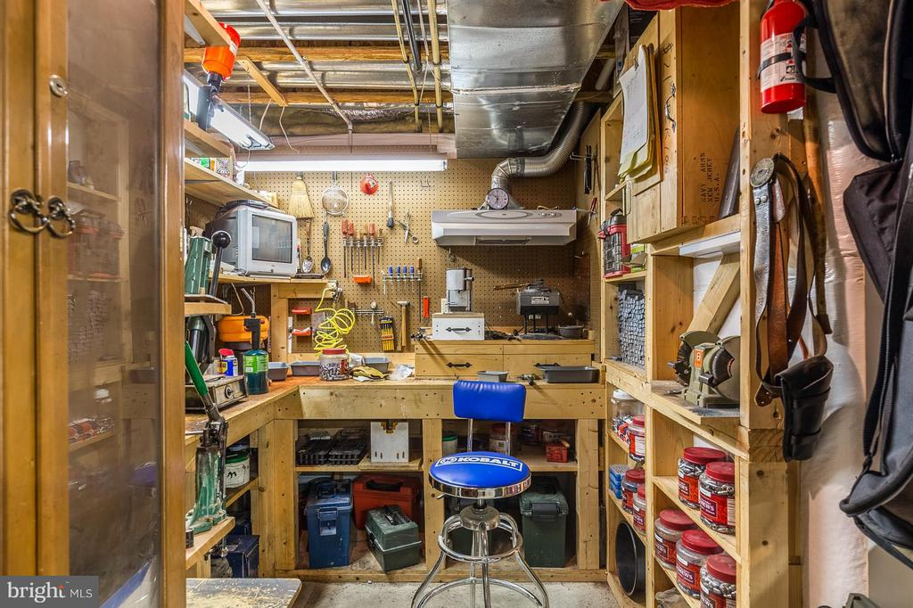 Workshop on Lower Level - 3756 RUSSETT MAPLE CT, DUMFRIES