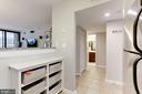 Built-in storage - 1001 N RANDOLPH ST #518, ARLINGTON
