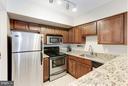 Gourmet kitchen! - 1001 N RANDOLPH ST #518, ARLINGTON