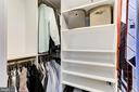 Walk-in closet! - 1001 N RANDOLPH ST #518, ARLINGTON