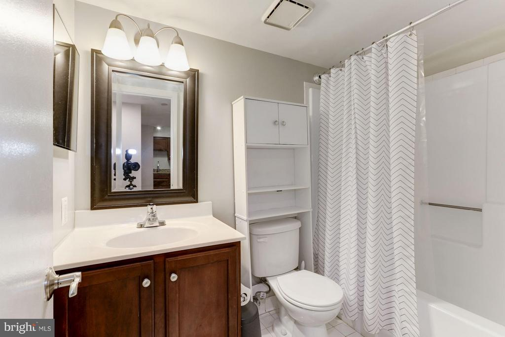 Bathroom in the hallway - 1001 N RANDOLPH ST #518, ARLINGTON