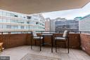 Rare open air balcony! - 1001 N RANDOLPH ST #518, ARLINGTON