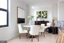 Dining room - 1427 RHODE ISLAND AVE NW #204, WASHINGTON