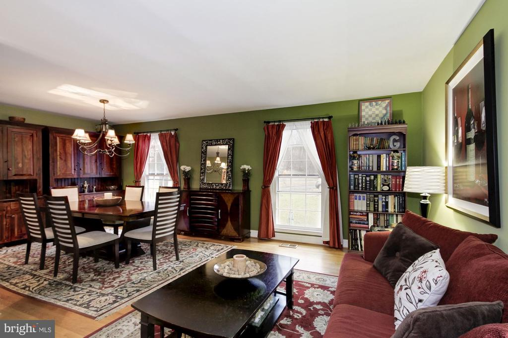 Dining Room/Living Room - 4 HONEY BROOK LN, GAITHERSBURG