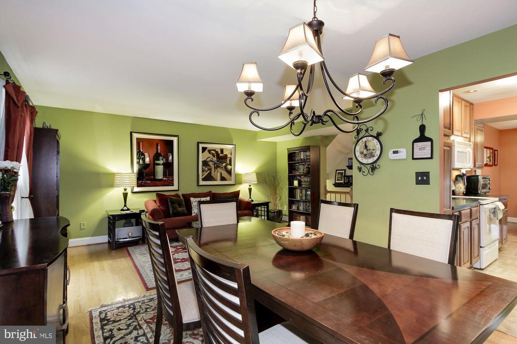Dining Room - 4 HONEY BROOK LN, GAITHERSBURG