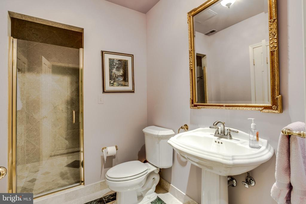 Lower level bath - 11408 HIGHLAND FARM CT, POTOMAC