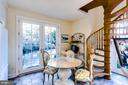 Pool House  Spiral Stairs to Loft - 11408 HIGHLAND FARM CT, POTOMAC