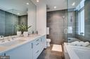 OWNER'S BATH - 1177 22ND ST NW #3D, WASHINGTON