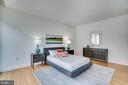 OWNER'S BEDROOM - 1177 22ND ST NW #3D, WASHINGTON