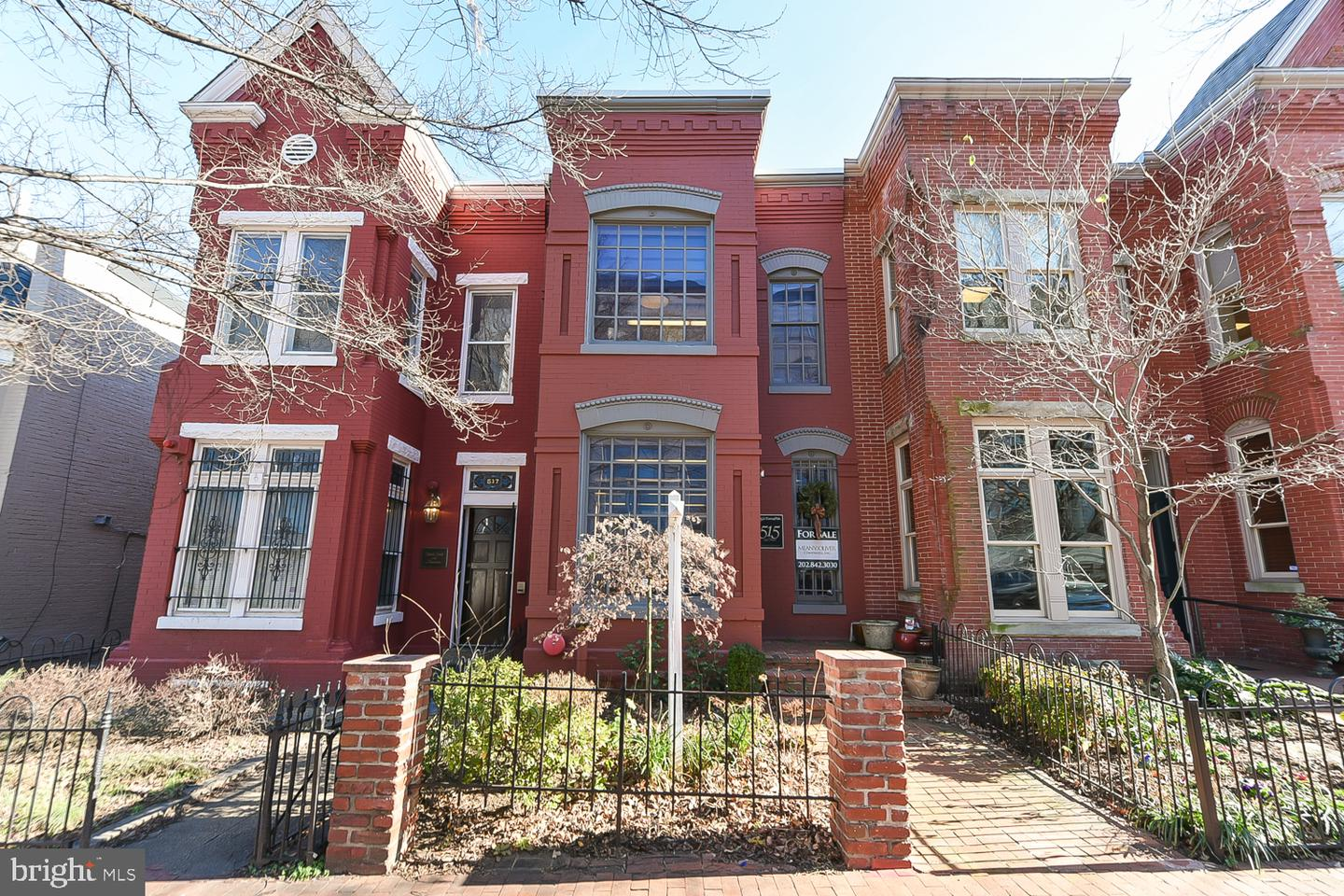 Single Family Home for Sale at 515 2nd St NE Washington, District Of Columbia 20002 United States