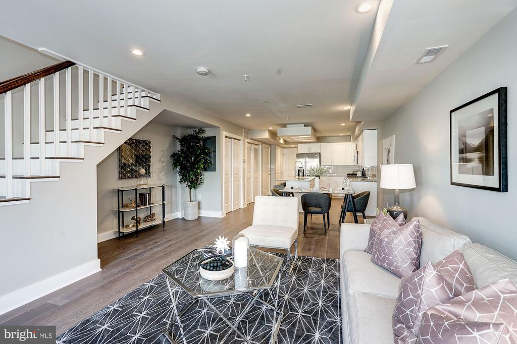 Living/dining room - 1826 INDEPENDENCE AVE SE #FOUR, WASHINGTON