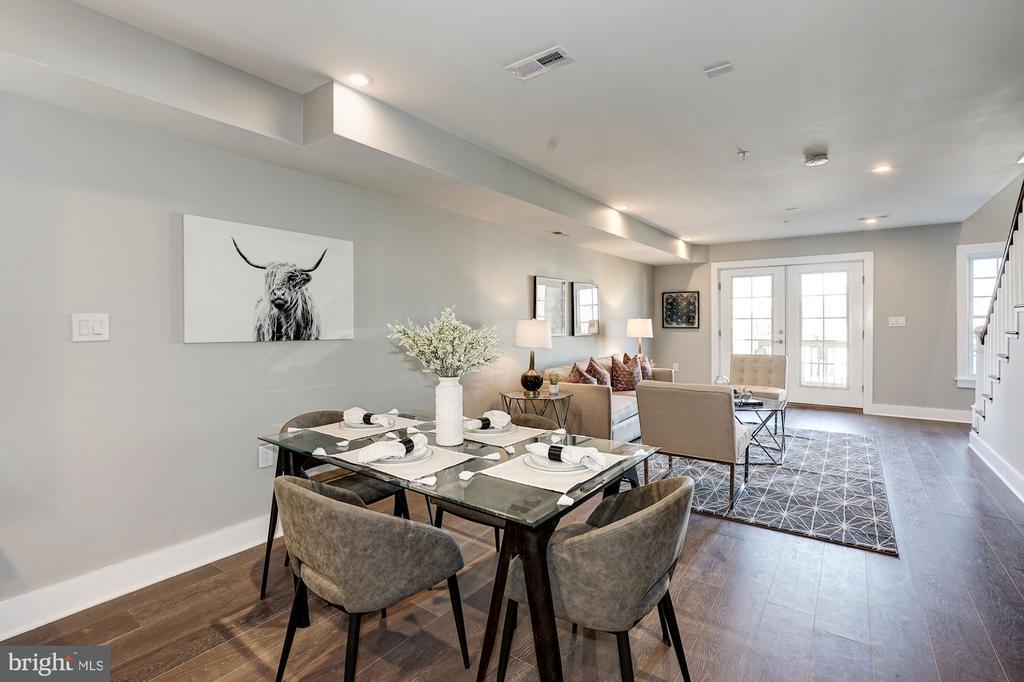 Dining/living room - 1826 INDEPENDENCE AVE SE #FOUR, WASHINGTON