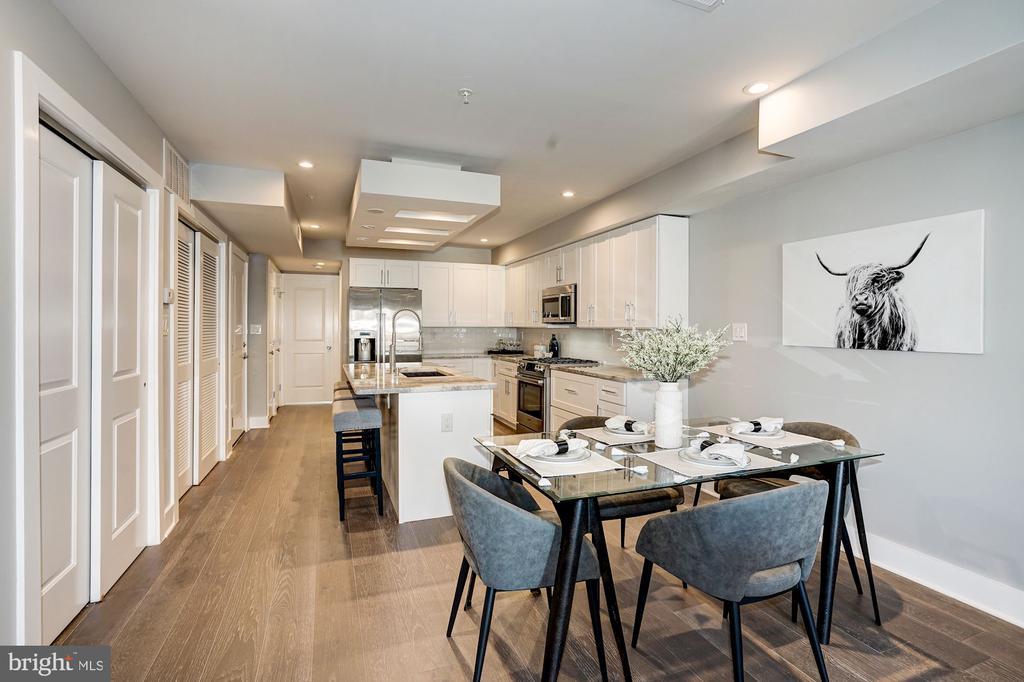 Dining room/kitchen - 1826 INDEPENDENCE AVE SE #FOUR, WASHINGTON
