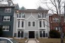 Front shot of building - 1826 INDEPENDENCE AVE SE #FOUR, WASHINGTON