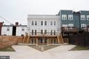 Rear common space/parking - 1826 INDEPENDENCE AVE SE #FOUR, WASHINGTON