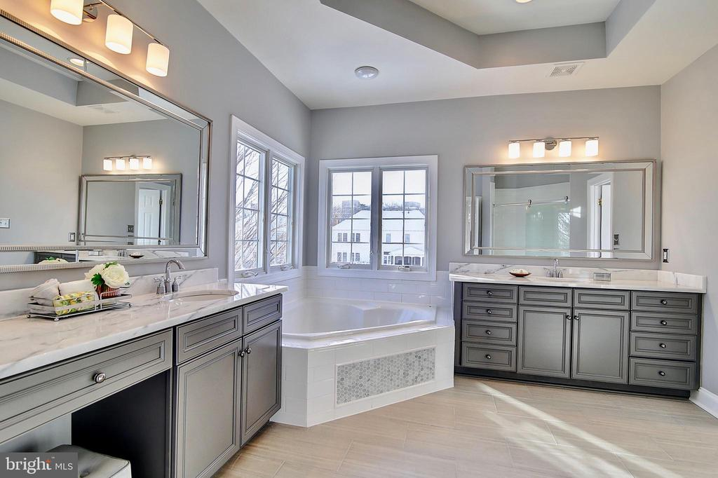Master bath - 44181 RIVERPOINT DR, LEESBURG