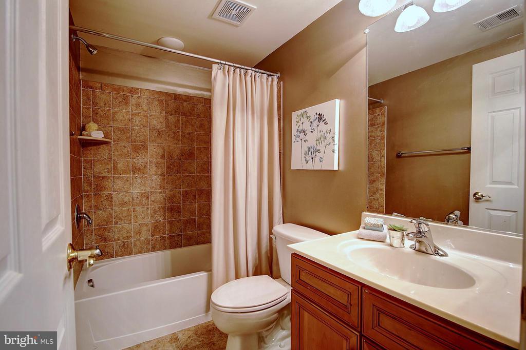 Basement full bath - 44181 RIVERPOINT DR, LEESBURG