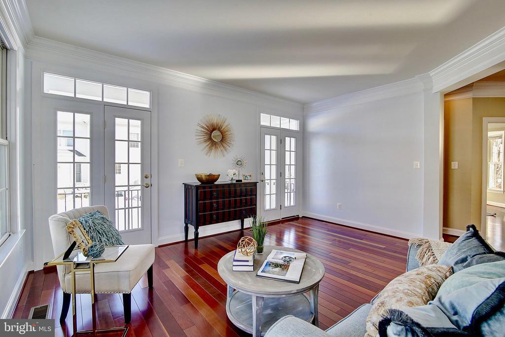 Light filled living/sun room - 44181 RIVERPOINT DR, LEESBURG