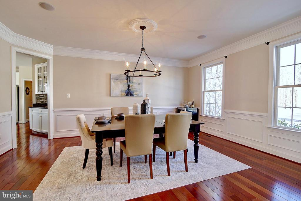 Dining Room - 44181 RIVERPOINT DR, LEESBURG