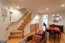 9' ceilings with crown molding - 1332 N DANVILLE ST, ARLINGTON