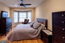 master suite w/ large walk in closet & bay window - 1332 N DANVILLE ST, ARLINGTON