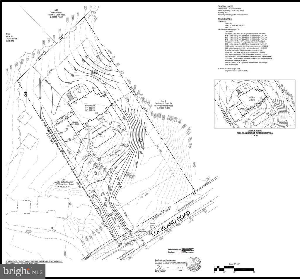 Site Plan - 10704 LOCKLAND RD, ROCKVILLE