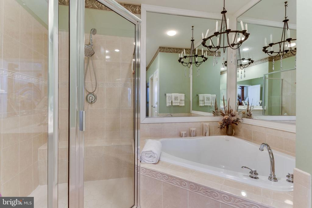 Separate Shower and Soaking Tub - 493 BELMONT BAY DR, WOODBRIDGE