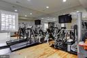 In home, state of the art gym - 11408 HIGHLAND FARM CT, POTOMAC