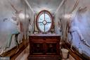 Formal Powder Room - 11408 HIGHLAND FARM CT, POTOMAC