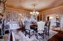 Formal dining room - 11408 HIGHLAND FARM CT, POTOMAC
