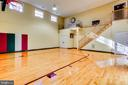 Indoor Basketball Court - 11408 HIGHLAND FARM CT, POTOMAC