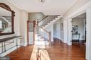 Gracious entry hall welcomes guests to the home. - 4619 27TH ST N, ARLINGTON