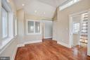 Bedroom #4 with rear stair access - 4619 27TH ST N, ARLINGTON