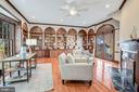 Library with wrap around bookcases - 4619 27TH ST N, ARLINGTON