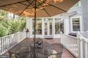 Easy flow from FR to Deck for outdoor enjoyment - 4619 27TH ST N, ARLINGTON