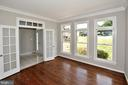 Study with French Doors and Transom - 46441 MONTGOMERY PL, STERLING