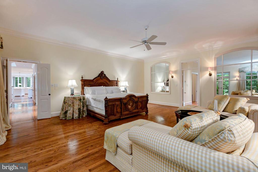 Main Level Master Bedroom Suite - 6004 BROOKSIDE DR, CHEVY CHASE