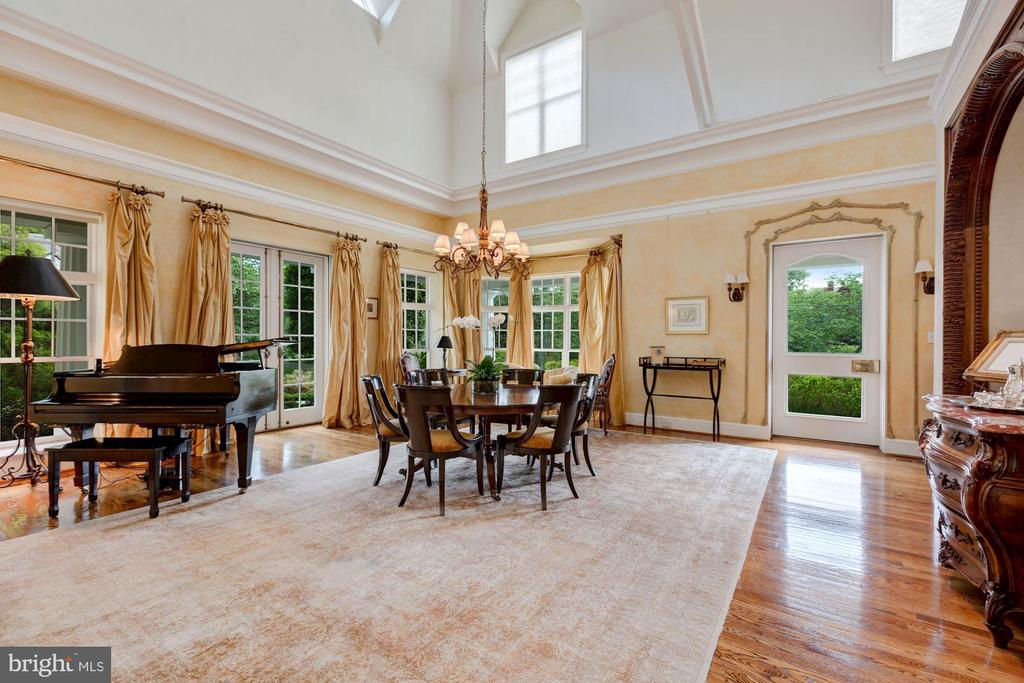Grand Dining Room - 6004 BROOKSIDE DR, CHEVY CHASE