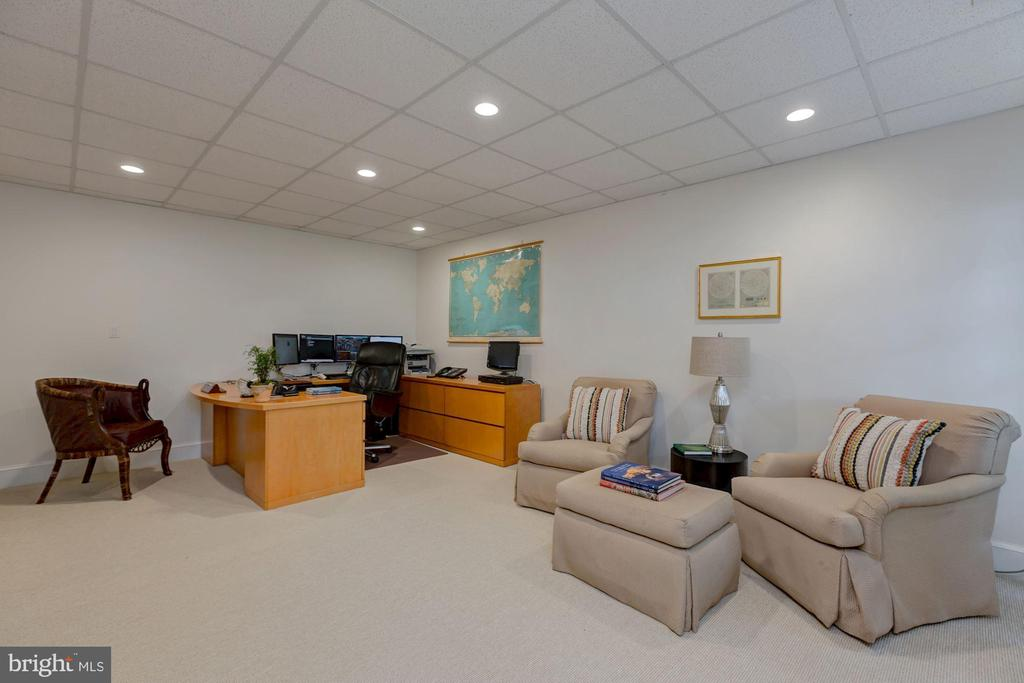 Lower Level Office - 6004 BROOKSIDE DR, CHEVY CHASE