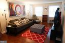 LIVING ROOM - 2609 ARLINGTON BLVD #56, ARLINGTON