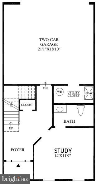 Bethesda 3 Floor Plan - 22639 NORWALK SQ, ASHBURN