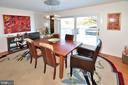 Formal dining room off kitchen & living room - 11312 WEDGE DR, RESTON