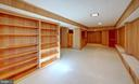 Built-in bookshelves and benches - 4206 COLLEGE HEIGHTS DR, UNIVERSITY PARK