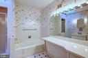 Huge Main Floor Bathroom - 4206 COLLEGE HEIGHTS DR, UNIVERSITY PARK