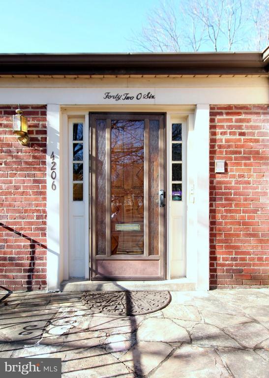 Front Door - 4206 COLLEGE HEIGHTS DR, UNIVERSITY PARK