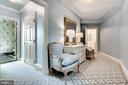 Beautiful entry into a beautiful bedroom - 11408 HIGHLAND FARM CT, POTOMAC