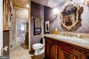 His Master Bath - 11408 HIGHLAND FARM CT, POTOMAC
