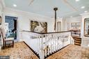 Upper Level Foyer - 11408 HIGHLAND FARM CT, POTOMAC