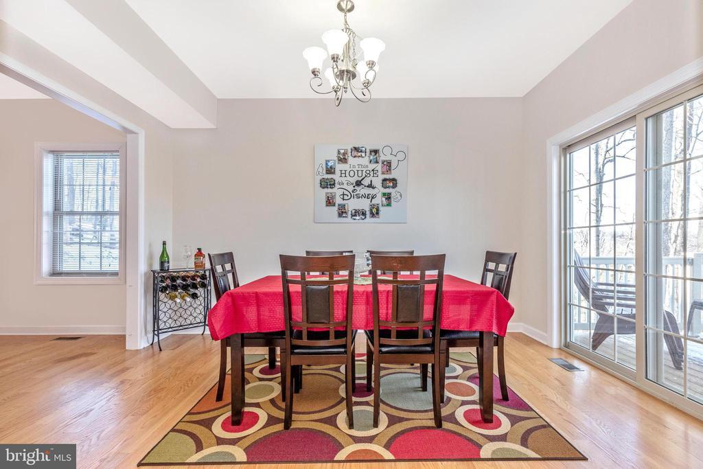 Dining Room - 6801 OAKCREST CT, NEW MARKET